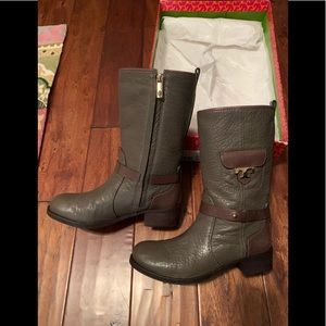 Tory Burch mid shaft boots